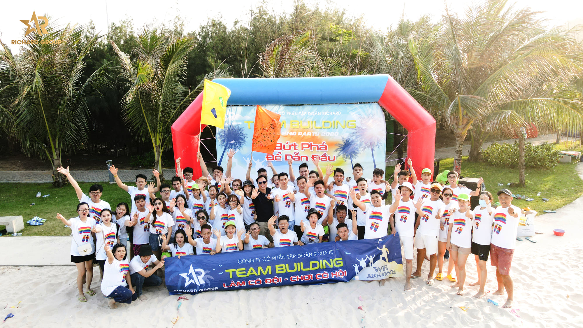 Team building and year end party
